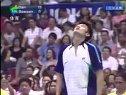 2005欧亚羽毛球对抗赛  第三男单比赛  博森VS林丹