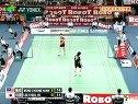 2008年汤姆斯杯羽毛球亚洲区预赛决赛黄综翰VS李哲豪