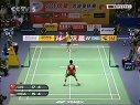 2005年苏迪曼杯羽毛球混合团体赛男单第二场林丹VS陶菲克(2)