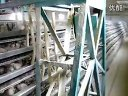 鹌鹑全自动化养殖设备原创视频