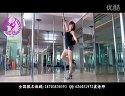 高清健身房钢管舞表演