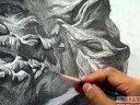 马赛(下集) - 素描石膏像 -  美术视频20121021中国美术高考网211