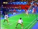 1990年全英羽毛球公开赛男双决赛李永波田秉毅VS朴柱奉金文秀