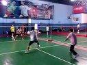 长沙Coffey英语沙龙金轮羽毛球活动4