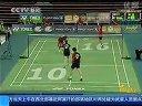 羽毛球锦标赛中国队得三金