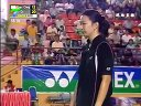 2006年亚洲羽毛球锦标赛女双决赛杜婧于洋VS简毓瑾程文欣