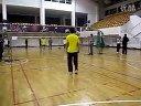 2012年吉林大学新民校区羽毛球赛 三四名决赛 李昕VS王川