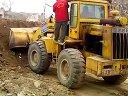 淄博挖掘机培训;淄博挖掘机;装载机视频淄博金星挖掘机