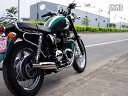 Triumph Bonneville T100 with Norman Hyde