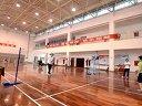 飞行学院4月羽毛球比赛