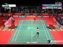 2012年世界羽联超级系列赛印尼公开赛男单八分之一决赛 陶菲克-索尼