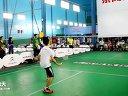 2012年东风雪铁龙羽毛球比赛杨帆VS黄皇20:2121:1911:10---运动天