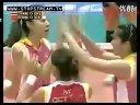 2012女排亚俱杯 半决赛 天津3:0泰国