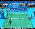 2012中国羽毛球俱乐部超级联赛 林丹VS王睁茗
