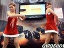 圣诞短裙美女火辣热舞