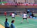 吴胜茂文耀东VS张彬丁奕博 男双半决赛 2012全国聋人羽毛球锦标赛