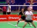 冯彬何牧VS张小利周淑华  第十九届全球华人羽毛球锦标赛