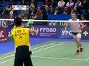 羽毛球123论坛 2012法国羽毛球公开赛男单 阿萨尔森VS刘国伦