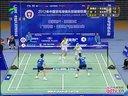 羽毛球知识教学网 2012羽超联赛14决赛 钟倩欣 包宜鑫 vs 周卉 张亚雯