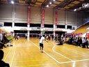 第四届县运会羽毛球比赛男子单打决赛2