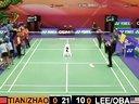 2012香港羽毛球公开赛女双第一轮 田卿 赵芸蕾S美国组合