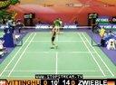 2012年中国香港羽毛球超级赛男单第二轮 兹韦布勒VS维汀胡斯