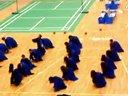 羽毛球比赛开幕式表演