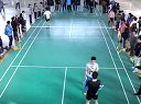 2012北交院际杯羽毛球赛男单决赛