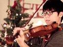 【猴姆独家】好欢乐!美籍韩裔大学生安俊成小提琴演奏Mistletoe