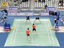 新浪微博@羽球南方淘宝店V 2013年韩国羽毛球公开赛 李龙大高成炫VS邦德彼德森