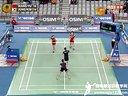 2013年韩国羽毛球公开赛半决赛 于洋王晓理VS郑景银金荷娜 羽毛球知识教学网