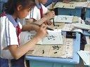 小学六年级书法《明月松间照,清泉石上流》教学视频王明姐