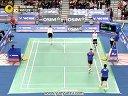 2013韩国羽毛球公开赛男双决赛李龙大高成炫vs鲍依摩根森1
