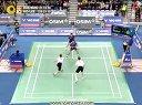 2013韩国羽毛球公开赛男双决赛李龙大高成炫vs鲍依摩根森3