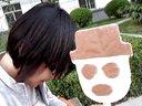 和姐在天津吃雪人雪糕