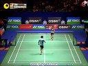 2013全英羽毛球公开赛男单4强李宗伟vs坦农萨克