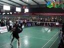 邓云鹏张翃VS幺祎梁文龙(第四届羽毛球回超联赛开幕式义赛)