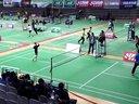 小学生精湛的球技!2013东西南北中羽毛球比赛宜兴站A组男单张扬16进8