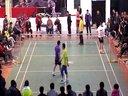 2013蓝湾一品杯羽毛球赛团体决赛 第三场