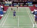 金基正金沙朗VS陈文宏古健杰 2013印度羽毛球公开赛男双四分之一决赛 羽毛球知识教学网
