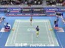 2012韩国羽毛球超级赛 男单决赛 李宗伟VS林丹比赛视频 1