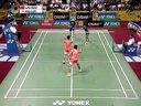 高成炫李龙大VS邱子瀚刘小龙 2013印度羽毛球超级赛男双决赛 羽毛球知识教学网