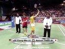 李宗伟VS田儿贤一 男单决赛 2013印度羽毛球超级赛 爱羽客羽毛球网