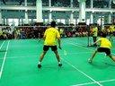 上海市羽毛球锦标赛,同济对体院男双1