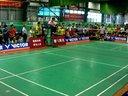 第一届VICTOR德讯阳光羽毛球高校联赛男单决赛