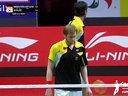 高成铉李龙大VS迈克尔彼得 2013苏迪曼杯四分之一决赛 韩国VS德国 羽毛球知识教学网