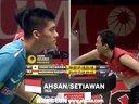 蔡赟傅海峰VS阿山塞蒂亚万 2013印尼羽毛球公开赛 爱羽客羽毛球网