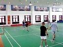冠东羽毛球比赛10《小郭,李阳和李刚,小乐》