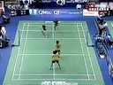 2006年世界羽毛球锦标赛16轮女双张亚雯魏轶力VS陈钰慧黄佩蒂