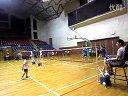 第一次参加羽毛球比赛(7岁 2013、7、24)